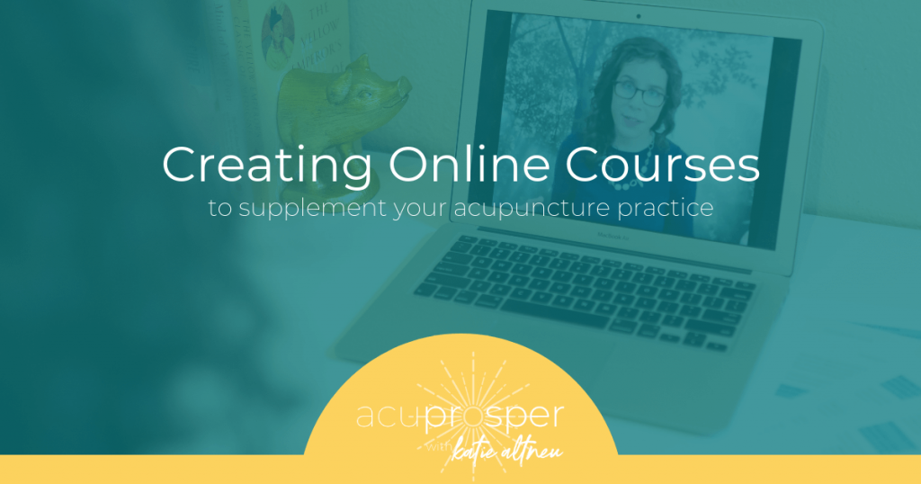 online course acupuncturists