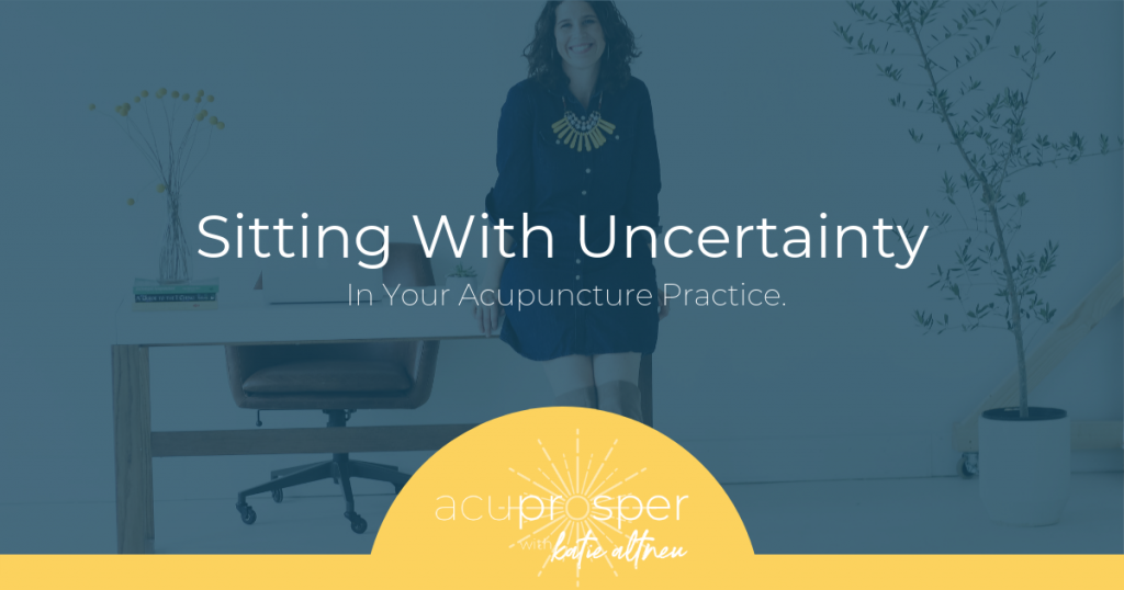 acupuncture marketing mindset
