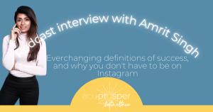 Acupuncturist interview acuprosper podcast Amrit Singh