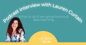acupuncture podcast interview lauren curtain